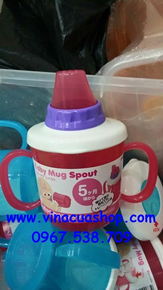 Bình tập uống kiểu mút BABY MUG 230ml