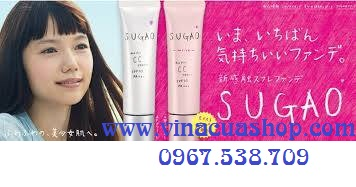Kem CC Cream Air Fit Sugao SPF23PA+++