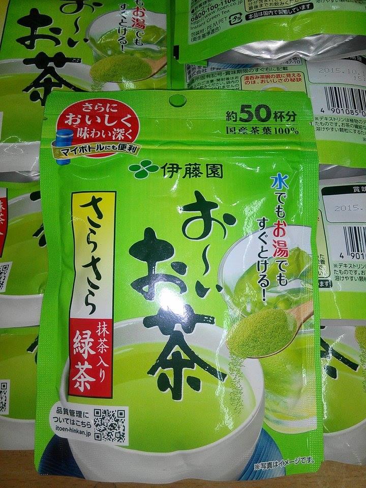 Bột trà xanh nguyên chất Nhật Bản túi 40g