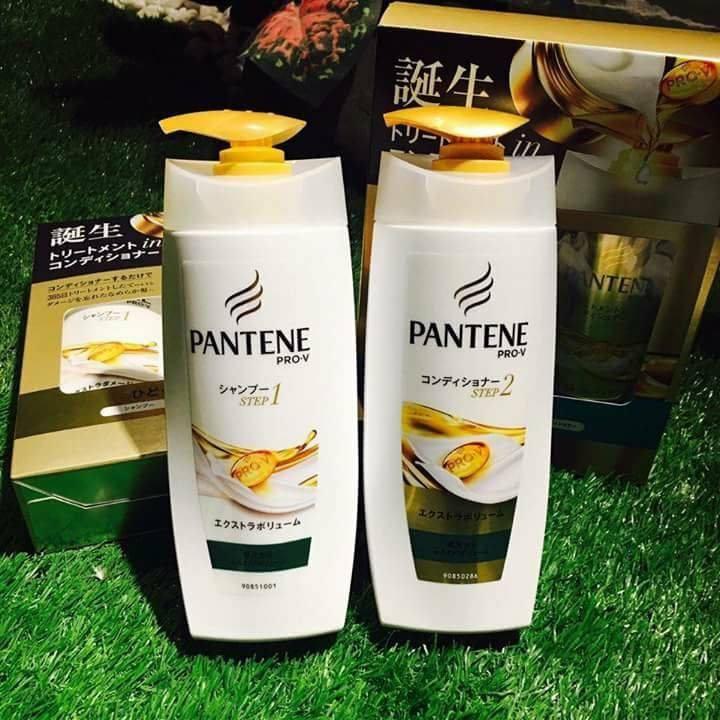 Bộ dầu gội - xả Pantene (vàng) Nhật