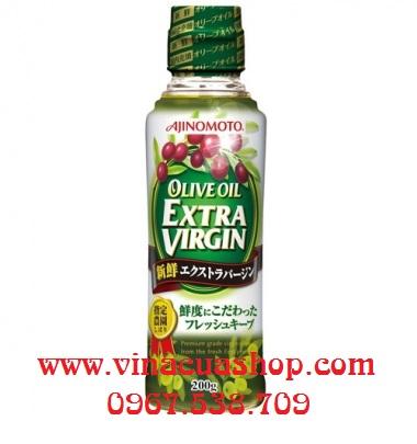 Dầu olive Extra Virgin 200g