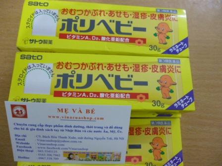 Kem chống hăm Sato